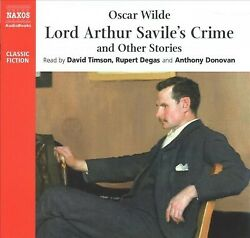Lord Arthur Savileand039s Crime And Other Stories Cd/spoken Word By Wilde Oscar...
