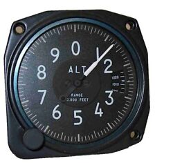 Altimeter Nonsensitive 10000 Ft Mb With Baro Window 3 1/8