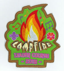 Hong Kong Scouts And Girl Guides Gg - Campfire Leader Course 2018 Official Patch