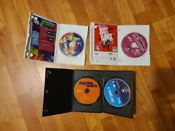 Nintendo Wii Games Bundle - Just Dance 3 + 2014 Dancing With The Stars And Other
