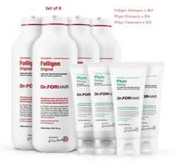 Dr.forhair Folligen Shampoo Phyto Therapy Set Sensitive Scalp - Free Expedited