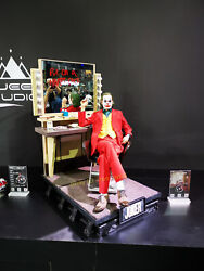 Queen Studios 13 Joaquin The Joker Rooted Hair Statue Limited250 Resin Model
