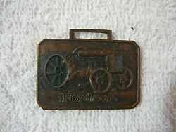 Rare Antique Fordson Tractor A Farm Classic Watch Fob Nice Item