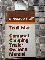 Starcraft Trail Star Camping Owners Manual Vintage 1974 Americana Dealer 018