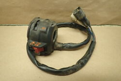 2008 Yamaha Raptor 700 Front Left Hand Switch Control For Parts