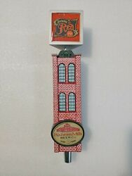 Rochester Mills Red Brick Building Excellent 12 Draft Beer Tap Handle Mancave
