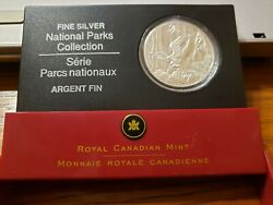 20 Fine Silver Coin 2005 Canada National Parks Series Pacific Rim Rp16