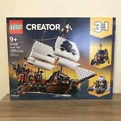 Lego 31109 Pirate Ship Lego Creator 3 In 1 Building Set Us Seller Brand New