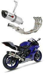 Yzf R6 Exhaust Full System Ex Collector Silencer Muffler Hp1 2017 - 2020