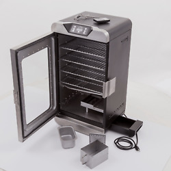 Deluxe Digital Electric Stainless Steel Char-broil Smoker 725 Sq In With Remote