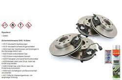 Brake Discs Brake Pads Front Rear For Ford Galaxy All Model Vw Sharan 7m8