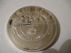 2009 Silver Wheaton Special Olympics Vancouver Canucks 10 Oz .999 Silver Round