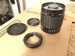 Kalimar 500mm f8 Mirror Lens with mount EXCELLENT CONDITION