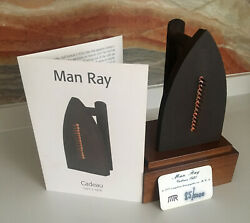 Man Ray Cadeau 85/5000 17x10x105 Super Low Number With Wood Base