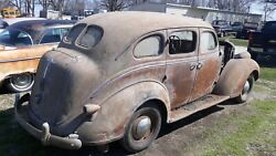 1938 Desoto Sedan Parts Restoration Barn Find Car Iowa Dash Interior 38 Mopar