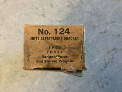 Nos 1958 Edsel Ranger Pacer Wagon Left And Right Spotlight Brackets 124 L And R