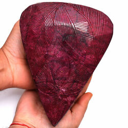 14953 Cts Natural Ruby Certified Museum Size Huge Moghul Carved Gemstone