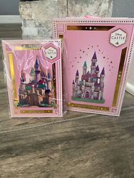 Disney Store Castle Collection Aurora Sleeping Beauty Ornament And Aurora Pin 6/10