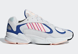 Adidas Yung-1 Crystal White Clear Orange Pink Royal Blue Bd7654 Sneakers Casual