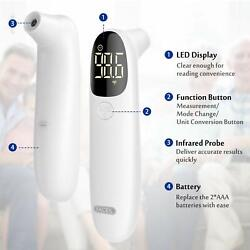 Forehead Infrared Thermometer Non Contact Touchless Accurate Digital Fast Pro