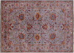 Traditional Handmade Wool Rug 5and039 10 X 7and039 11 - Q7625