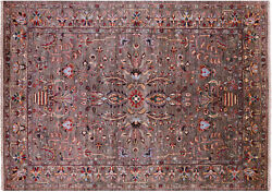 Fine Serapi Hand-knotted Wool Rug 6and039 10 X 9and039 6 - Q7607