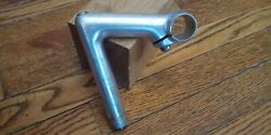Silver 100mm Vintage 1 Quill Stem 26.4 Road