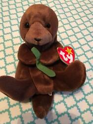 Seaweed The Otter Beanie Baby Retired Ty Rare