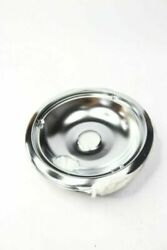 8 National Chrome Electric Range Drip Pan Fits Ge And Hotpoint Ranges