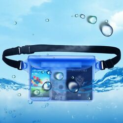 Outdoor Travel Waterproof Bag Beach Cell Phone Underwater Swimming Storage Pouch $5.39