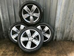 Vw Tiguan Mk2 19 Inch Victoria Falls Alloy Wheels With Tyres 7jx19 Et43 Genuine