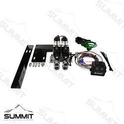 Electric Rear Remote Valve Kit For Compact Tractors Two Spool