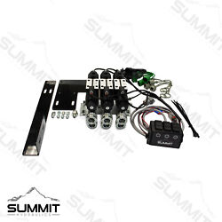 Electric Rear Remote Valve Kit For Compact Tractors Three Spool