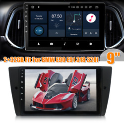 9 Android 10.1 2+32gb Car Radio Stereo Gps Wifi Fm Fit For Bmw E90 E91 318 320i