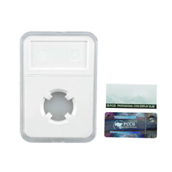 18mmpccb Holder Protector Coin Display Slab For Ngc Pcgs Grade Collection Box