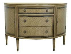 L32444e Ardley Hall Large Adam Paint Decorated Commode 1 Of 2