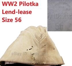Pilotka Ww2 Soviet Red Army Cap Soldier Officer Lend-lease