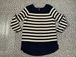Free People Beach Striped Sweater Size L Large $35.00