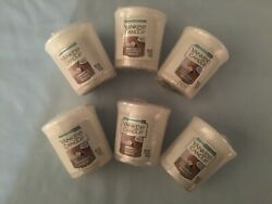 Yankee Candle Coconut Beach Votives **Lot of 6**