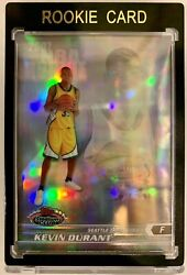 2007-08 Kevin Durant Topps Stadium Club Refractor Rc Rookie /999