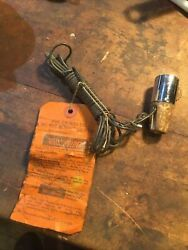 """Unusual 1920 1930's 40s 50s Vintage """"roll Holder"""" Switch Shift Knob Accessory"""