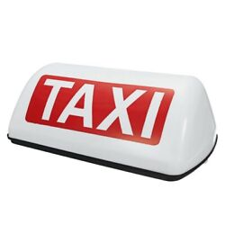 10x12v Waterproof Top Sign Magnetic Meter Cab Lamp Light Led Taxi Signal Lamp -