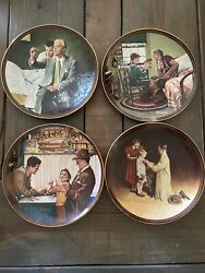 Norman Rockwell Collector Plates Lot Of 12