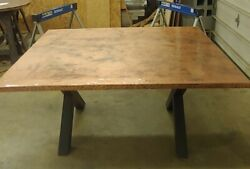 Copper Table / Kitchen Island Top 48 X 62