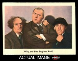 1959 Fleer Three Stooges 89 Why Are Fire Engines Red 7 - Nm