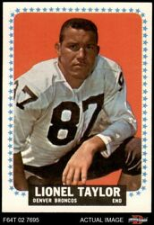 1964 Topps 64 Lionel Taylor Broncos New Mexico Highlands 6.5 - Ex/mt+