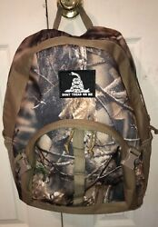 Dont Tread On Me Camoflauge Backpack Camo Bug Out Bag Hunting Supplies Large