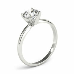 0.70 Ct Natural Diamond Solitaire Engagement Ring G/si2 Round Cut 14k White Gold
