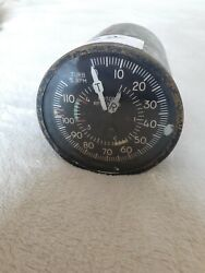 Bell 206 Helicopter Dual Tachometer Cockpit Indicator 3 Inch