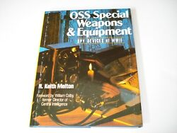 Oss Special Weapons And Equipment Spy Devices Of Wwii / Melton / Photos / New
